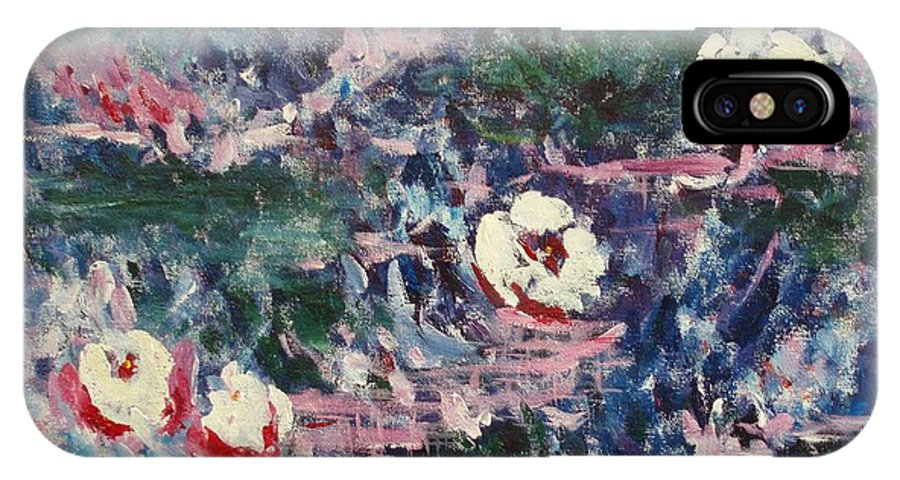 Monet IPhone Case featuring the painting Pure Joy by Tara Moorman