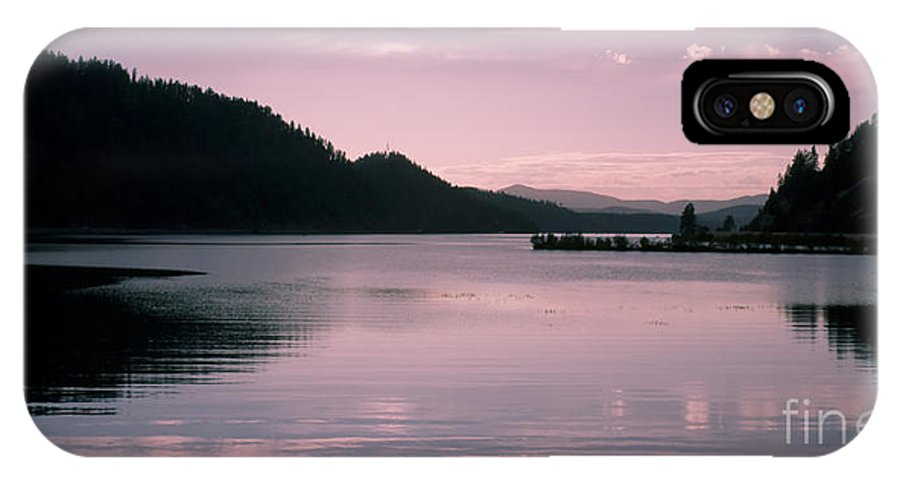 Idaho IPhone X Case featuring the photograph Quiet Afternoon by Idaho Scenic Images Linda Lantzy