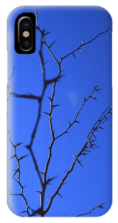 Nature IPhone X Case featuring the photograph Ragged Edges by Randy Oberg
