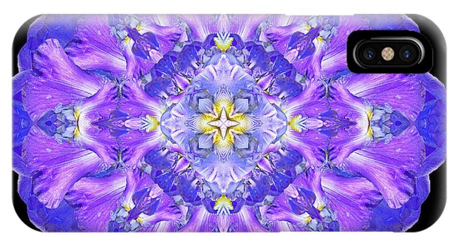 Mandala IPhone X Case featuring the photograph Rainy Day Dreams by Karen Jordan Allen