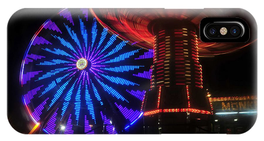 Florida State Fair IPhone X Case featuring the photograph Rare Light by David Lee Thompson