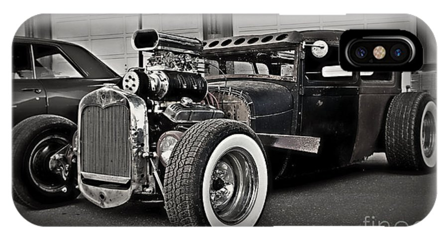 Rat Rod IPhone X Case featuring the photograph Rat Rod Scene 3 by Perry Webster