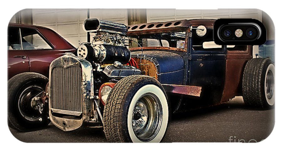 Rat Rod IPhone X Case featuring the photograph Rat Rod Scene by Perry Webster