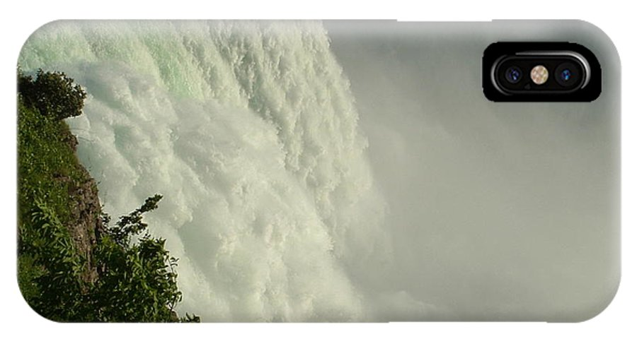 Landscapes IPhone X Case featuring the photograph Raw Power Niagra by Kevin Graham