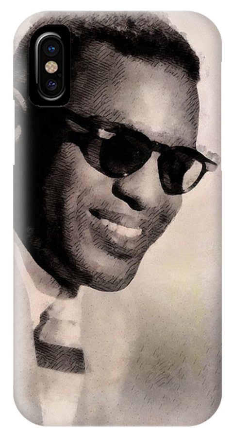 Ray Charles, Singer IPhone X Case