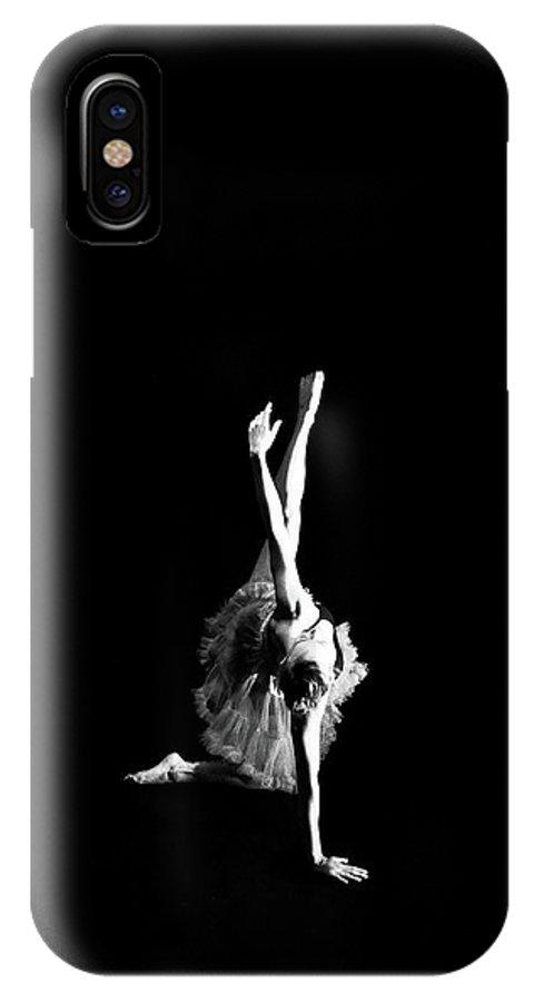 Ballerina IPhone X Case featuring the photograph Reaching Ballerina by Scott Sawyer