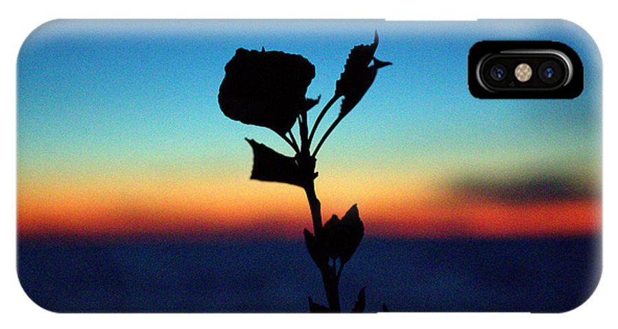 Grand Bend IPhone X / XS Case featuring the photograph Reaching Out by John Scatcherd