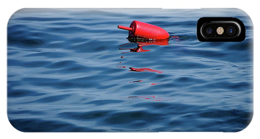Buoy IPhone X Case featuring the photograph Red Lobster Buoy by Rick Berk