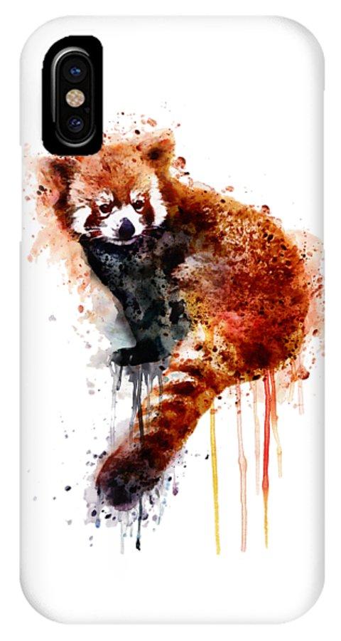 Red Panda Iphone X Case