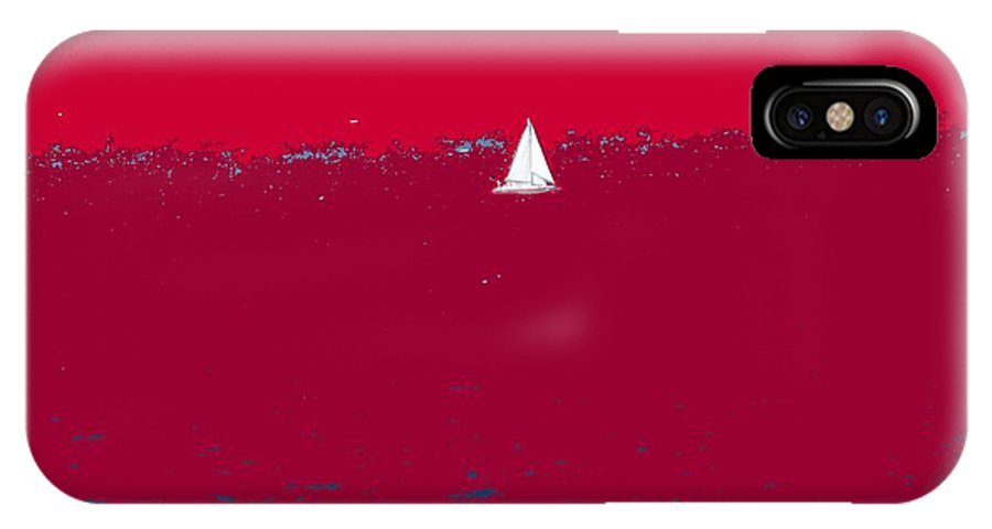 St Kitts IPhone X Case featuring the photograph Red Sea by Ian MacDonald