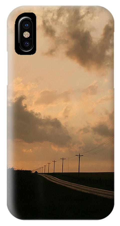 Landscape IPhone X Case featuring the photograph Reflection by Dylan Punke