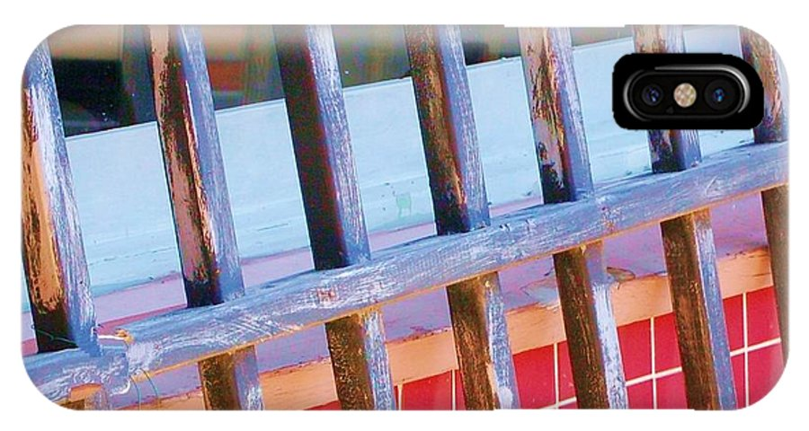 Gate IPhone Case featuring the photograph Reflections by Debbi Granruth