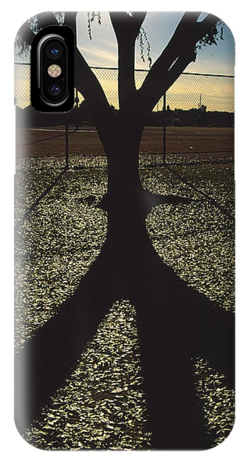 Tree IPhone Case featuring the photograph Reflections In A Park by Randy Oberg