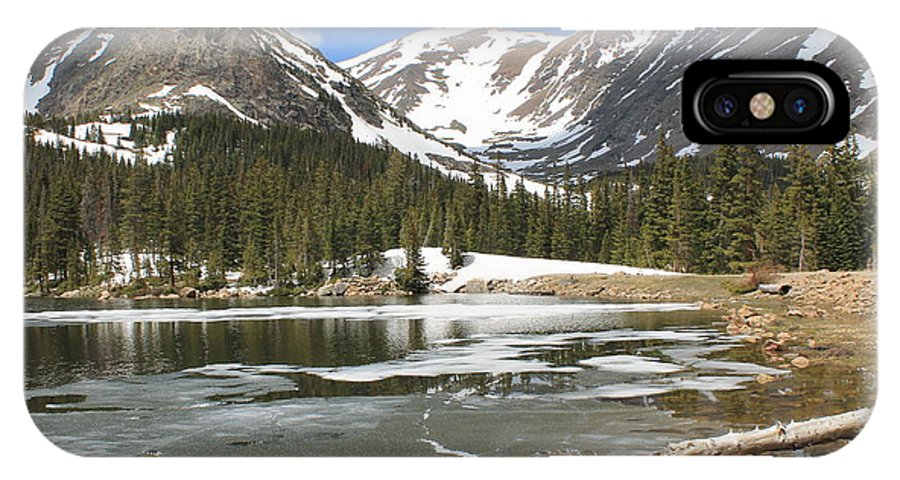 Nature IPhone X Case featuring the photograph Reflections On Chinns Lake 6 by Tonya Hance