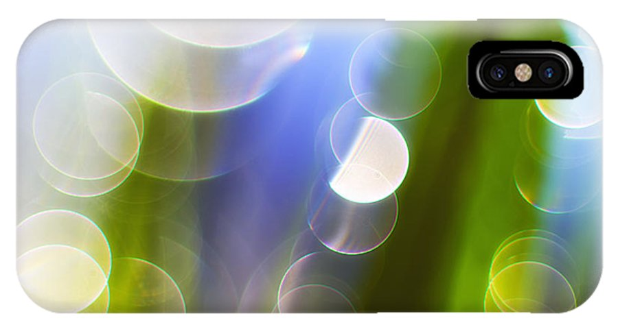 Grass IPhone X Case featuring the photograph Reflections by Silke Magino