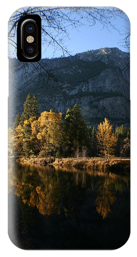Yosemite IPhone X Case featuring the photograph Reflections by Travis Day