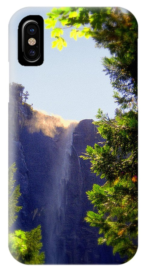 Bridalveil Falls IPhone X Case featuring the photograph Refreshing The Soul - Bridalveil Yosemite by Glenn McCarthy Art and Photography