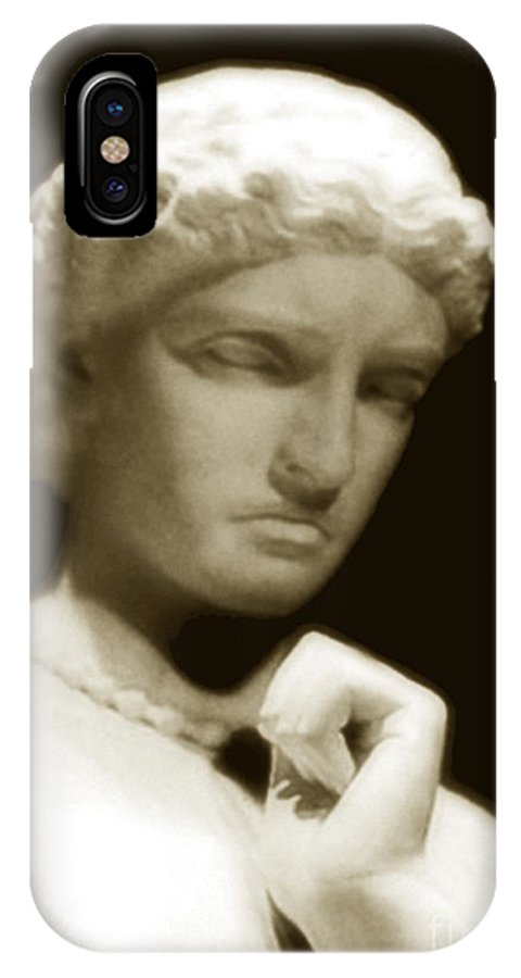 Woman IPhone X Case featuring the photograph Regret by RC DeWinter