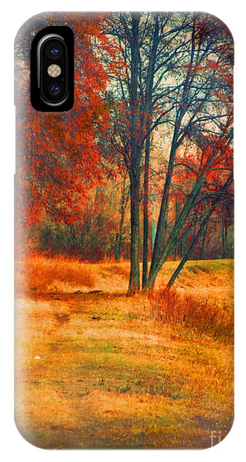 Trees IPhone X Case featuring the photograph Remembering The Places I Have Been by Tara Turner