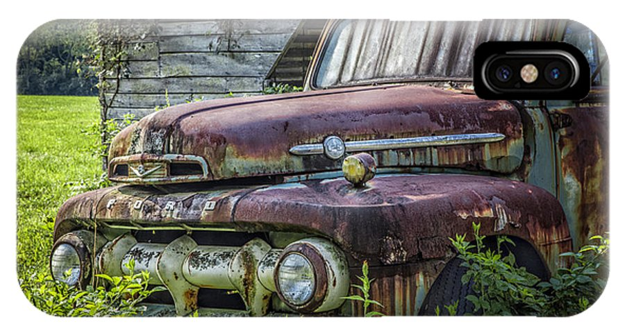 Appalachia IPhone X / XS Case featuring the photograph Retire In Style by Debra and Dave Vanderlaan
