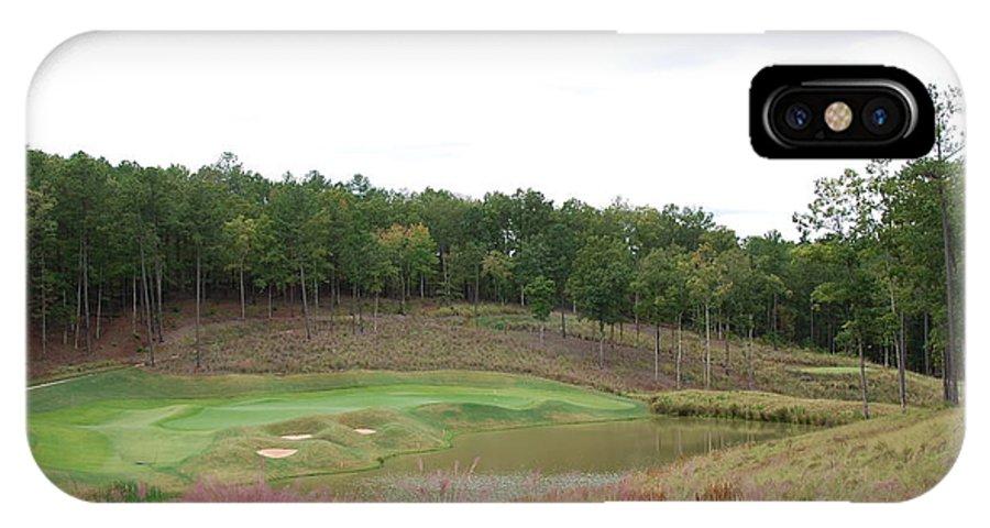 Landscape IPhone X Case featuring the photograph Reynolds Plantation Golf Ga Usa by Jan Daniels