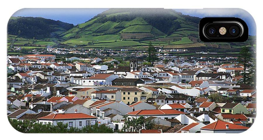 Azores IPhone X Case featuring the photograph Ribeira Grande by Gaspar Avila