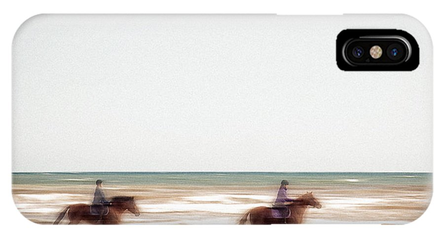 Nag004284 IPhone X Case featuring the photograph Riding The Tide by Edmund Nagele