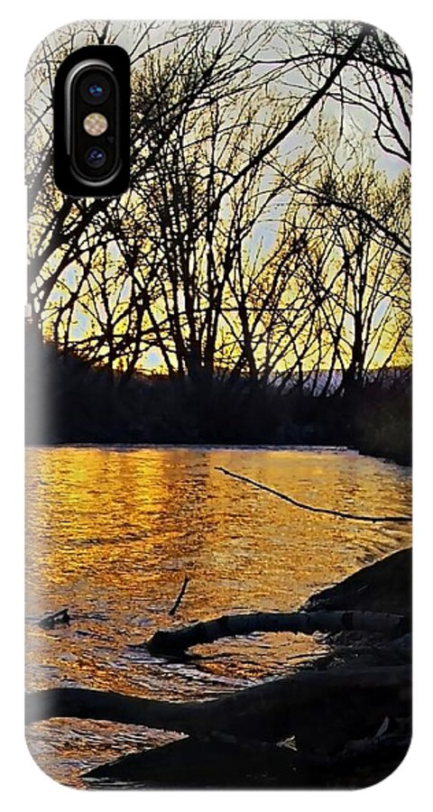 Rivers IPhone X Case featuring the photograph Rio De Paz by Jess' Shots