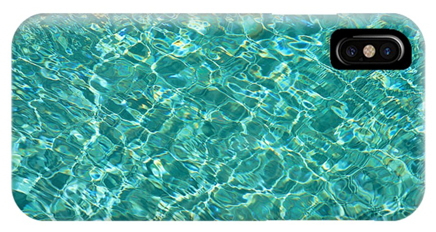 Afternoon IPhone X Case featuring the photograph Ripples by Carl Shaneff - Printscapes