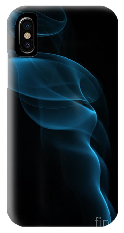 IPhone X Case featuring the photograph Rising Smoke by Michal Boubin