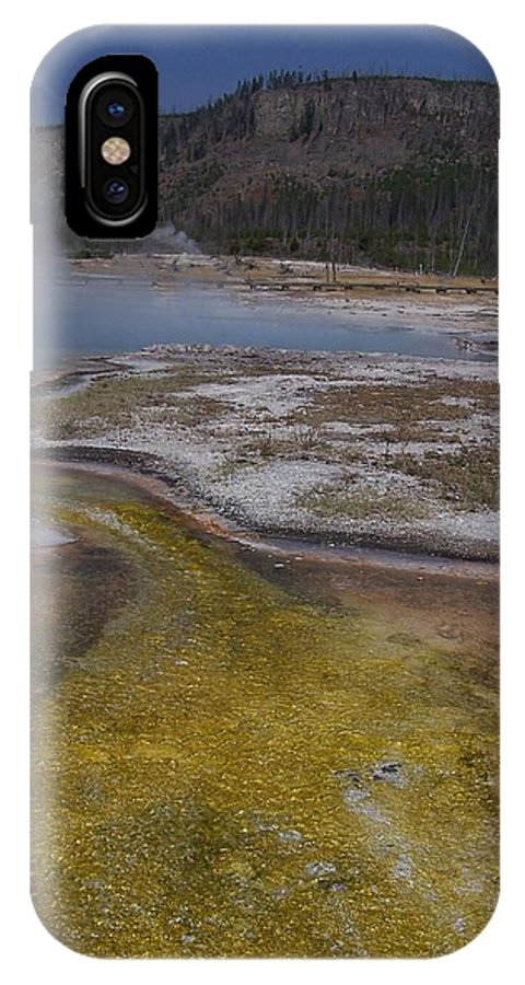 Geyser IPhone Case featuring the photograph River Of Gold by Gale Cochran-Smith