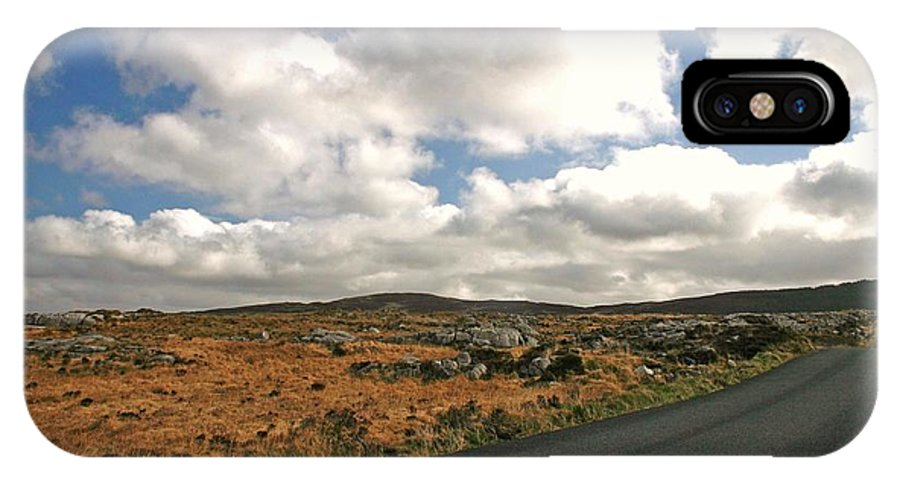 Road IPhone X Case featuring the photograph Road To Glenveagh National Park No 2 by Martina Fagan