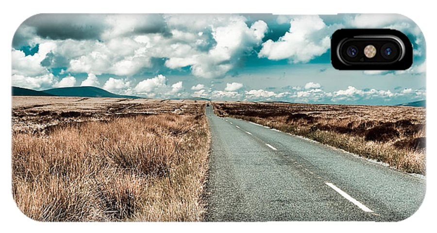 Road IPhone X Case featuring the photograph Road To Nowhere by Gabriela Insuratelu