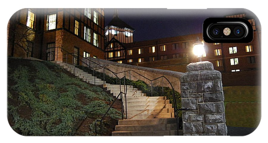 Steps IPhone X Case featuring the photograph Roanoke Steps by Eric Liller