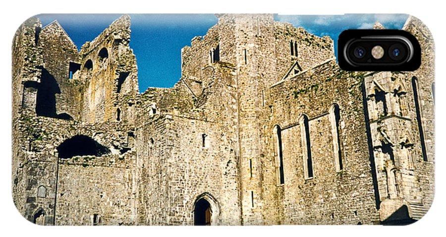 Rock IPhone X Case featuring the photograph Rock of Cashel Ireland by Douglas Barnett