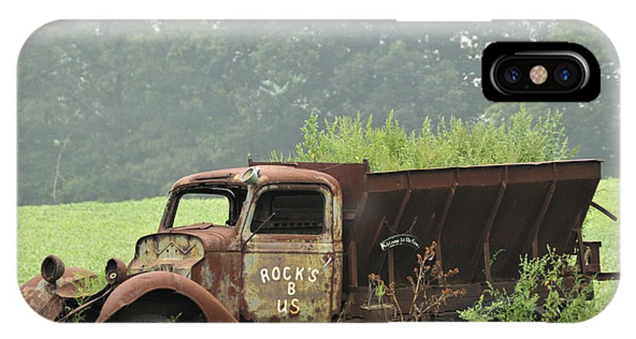 Truck IPhone X Case featuring the photograph Rocks B Us 1 by David Arment