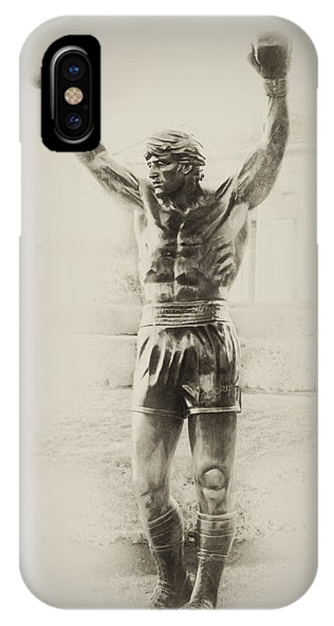 Rocky Balboa IPhone X Case featuring the photograph Rocky by Bill Cannon