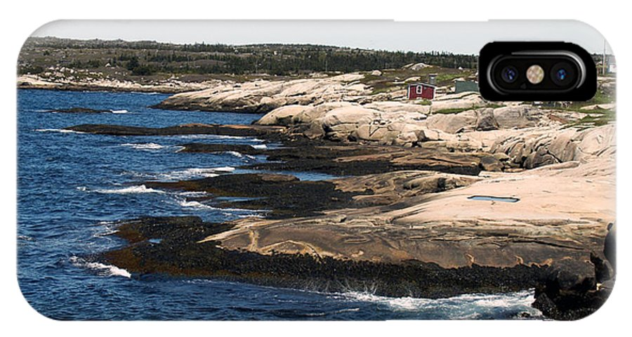 Fishing IPhone Case featuring the photograph Rocky Shores by Kelvin Booker
