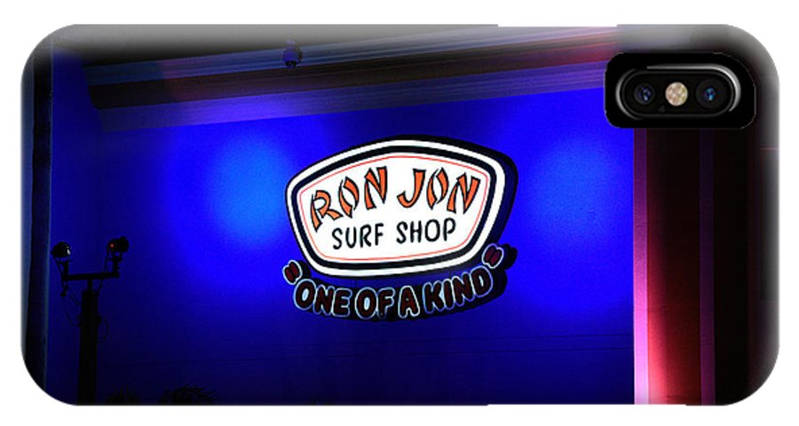 Cocoa Beach IPhone X Case featuring the photograph Ron Jon Surf Shop Photo 3 by DeSantis Digital Works