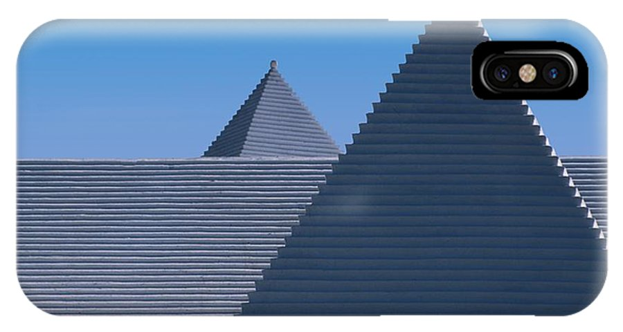 White Rough IPhone X Case featuring the photograph Roof In Bermuda by Carl Purcell