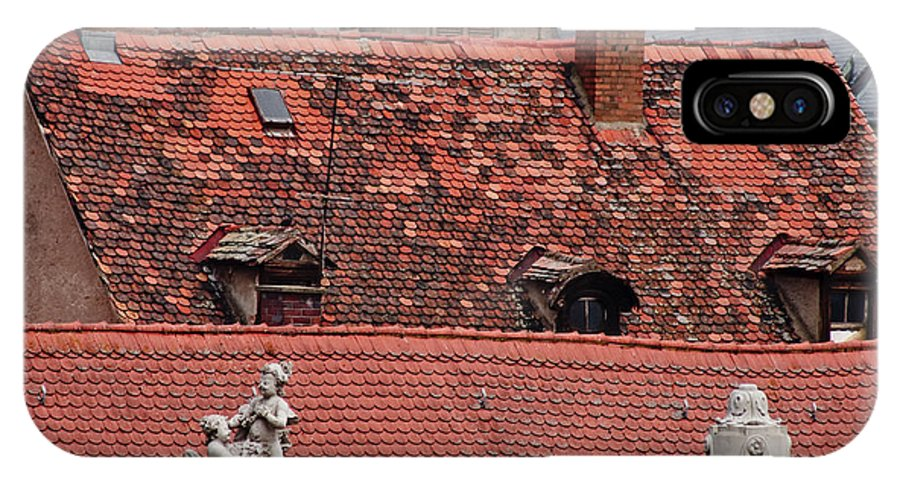 Bamberg IPhone X Case featuring the photograph Rooftops Of Bamberg II by Thomas Marchessault