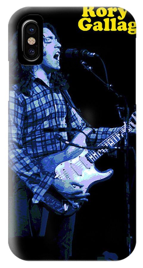 Rock Musicians IPhone X Case featuring the photograph R G In Kent 2 by Ben Upham