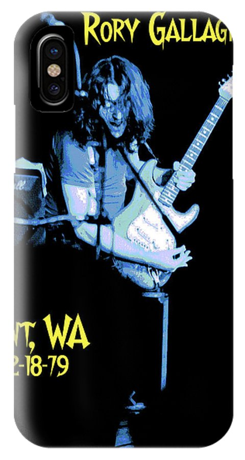 Rory Gallagher IPhone X Case featuring the photograph Rory Kent Blues by Ben Upham