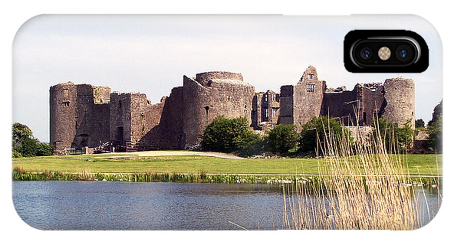 Roscommon IPhone X Case featuring the photograph Roscommon Castle Ireland by Teresa Mucha