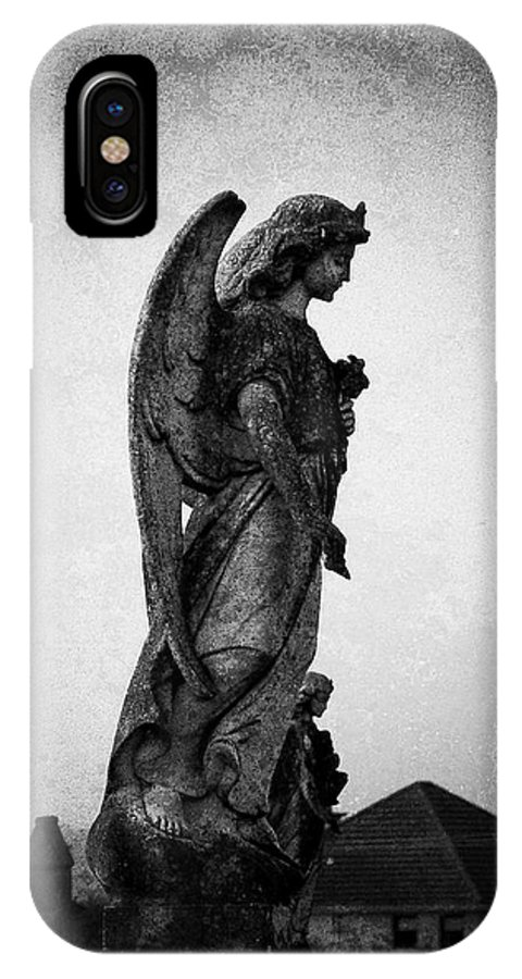 Roscommon IPhone Case featuring the photograph Roscommonn Angel No 4 by Teresa Mucha