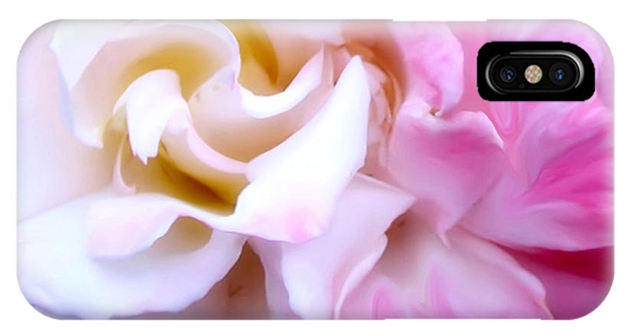 Flowers IPhone X Case featuring the photograph Rose by Karen W Meyer