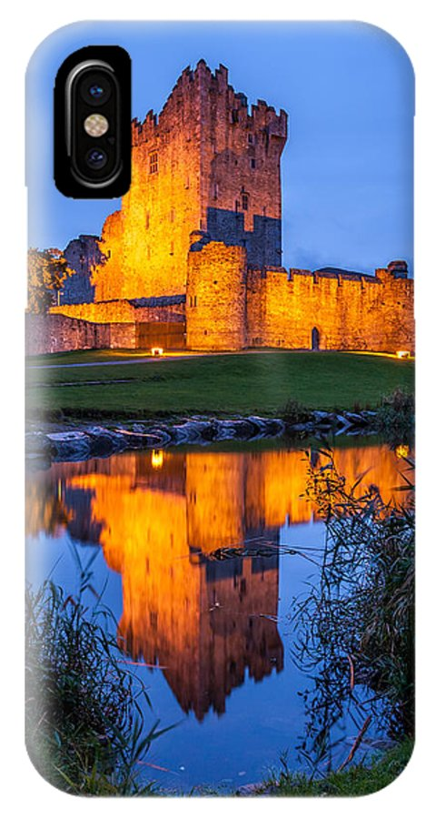 Ross Castle IPhone X Case featuring the photograph Ross Castle Killarney Ireland by Pierre Leclerc Photography