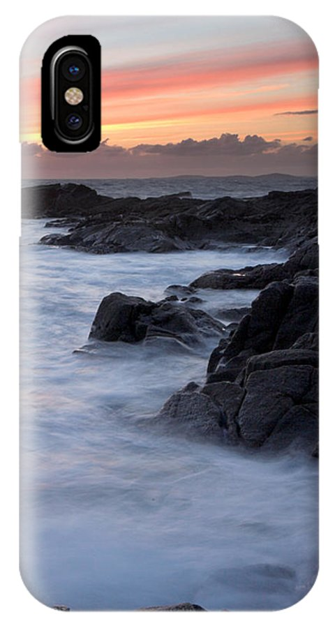 Roundstone IPhone X Case featuring the photograph Roundstone Sunset by Pierre Leclerc Photography