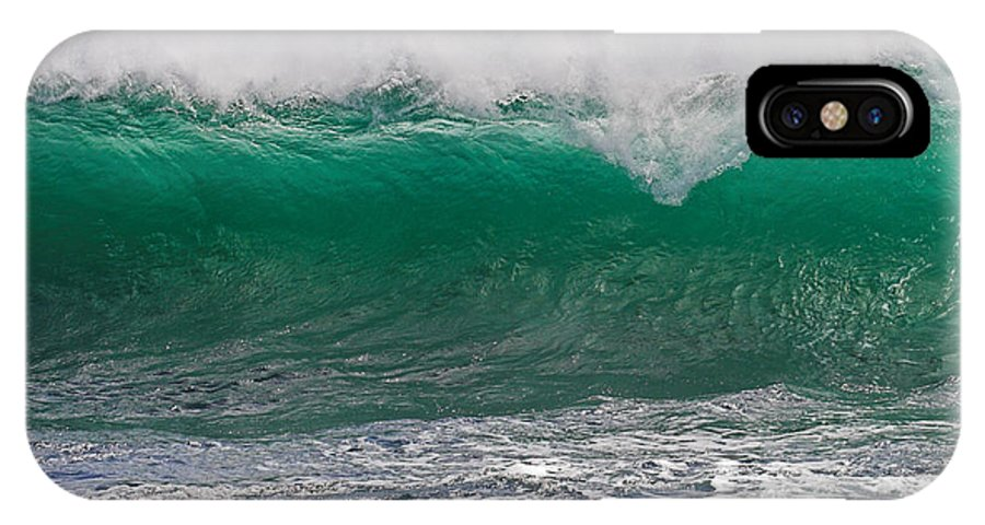 Roundstone IPhone X Case featuring the photograph Roundstone Turquoise Wave Ireland by Pierre Leclerc Photography