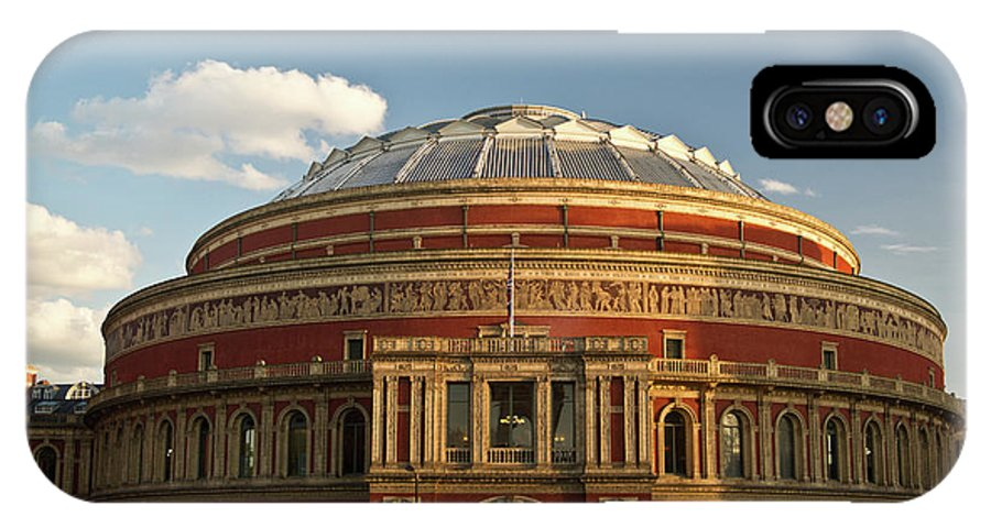 Royal IPhone X Case featuring the photograph Royal Alber Hall by Douglas Barnett